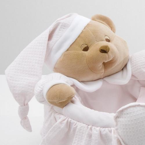 Nanan Puccio uzglabāšanas grozs Pink