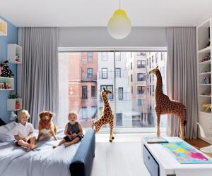 Bērnu istabas interjers