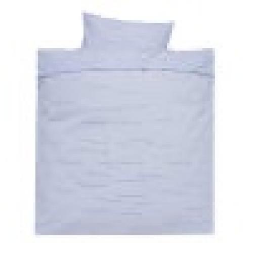 ALVI Sripes blue gultas veļas komplekts 2 vienības 80*80