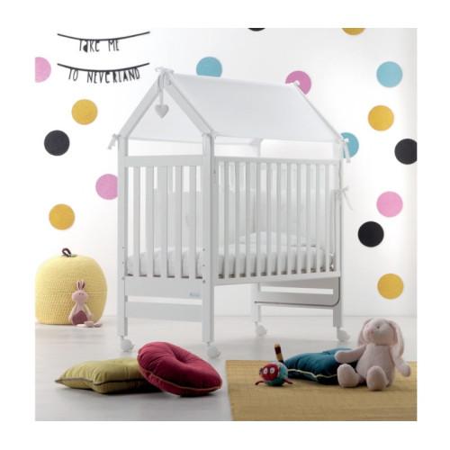 Azzurra bērnu gultiņa Contact Domus