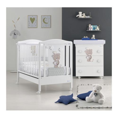 Azzurra bērnu gultiņa Love Me