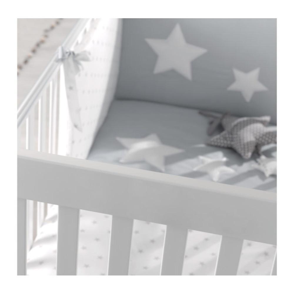 Azzurra bērnu gultiņa Homi Grey, Havana