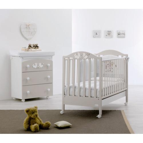 Azzurra bērnu gultiņa Star G/H