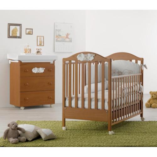 Azzurra bērnu gultiņa Star