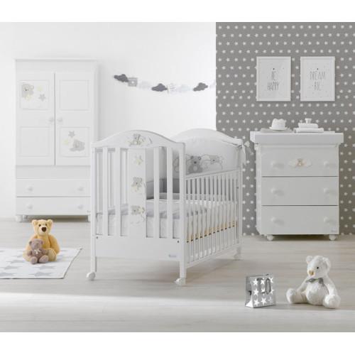 Azzurra bērnu gultiņa Starlette