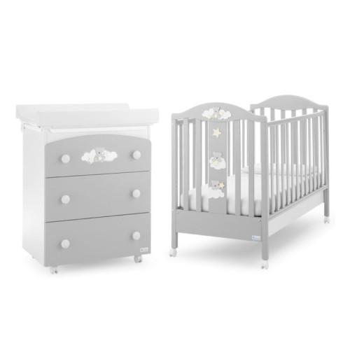 Azzurra bērnu gultiņa Starlette G/H