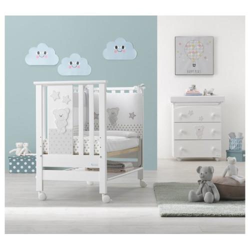 Azzurra bērnu gultiņa Contact Art