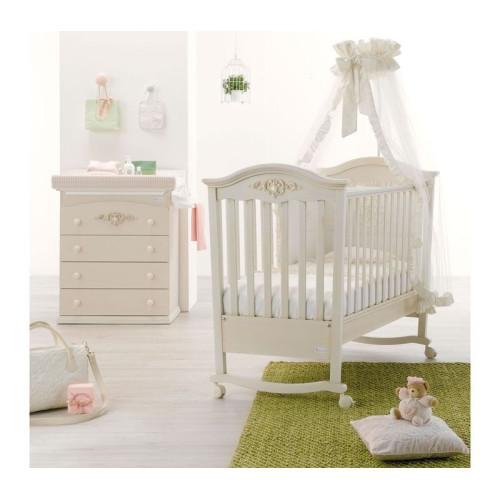 Azzurra bērnu gultiņa Pregio SW/AW