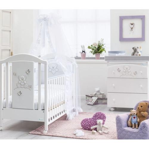 Azzurra bērnu gultiņa Sophia