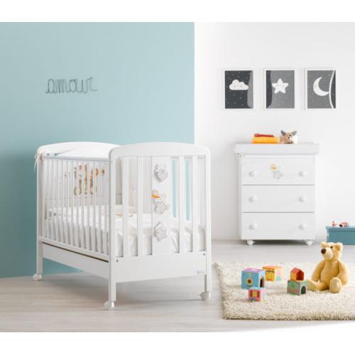 Azzurra bērnu gultiņa Miele