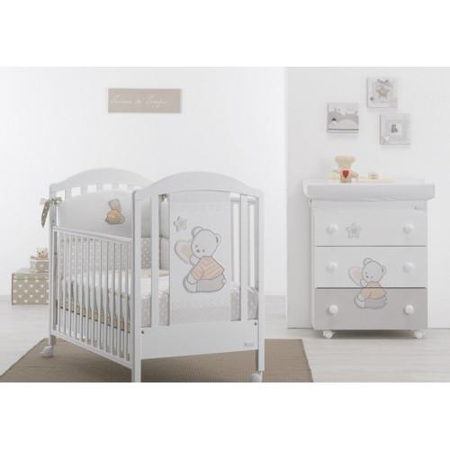 Azzurra bērnu gultiņa Cuore Stelle