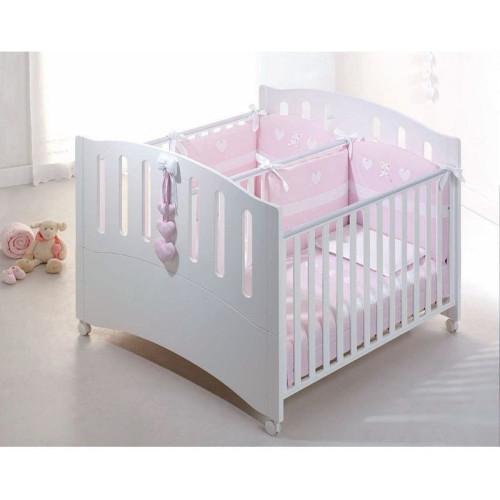 Azzurra bērnu gultiņa transformeris Gemini
