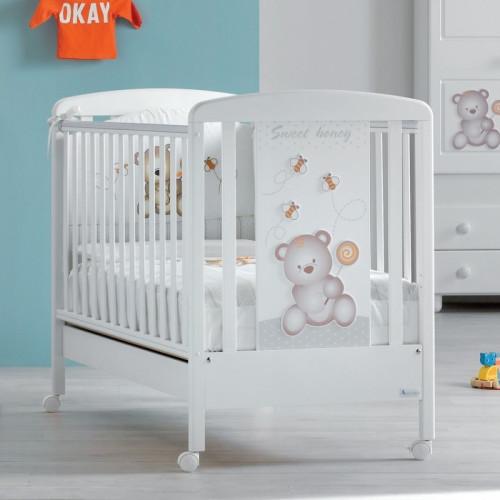Azzurra bērnu gultiņa Dolcemiele