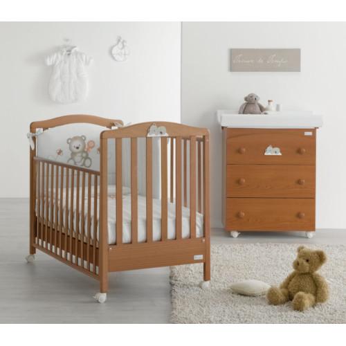 Azzurra bērnu gultiņa Web