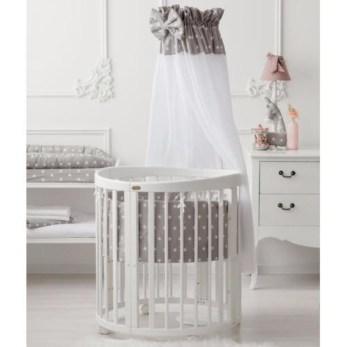 Comfortbaby gultas veļas kompleks Grey Stars