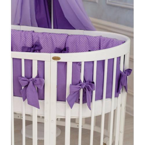 Comfortbaby gultas veļas kompleks 14 vienības Violet