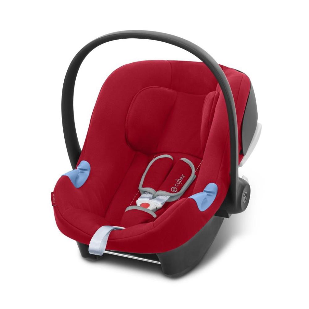Cybex ATON B Dynamic Red autosēdeklītis zīdaiņiem
