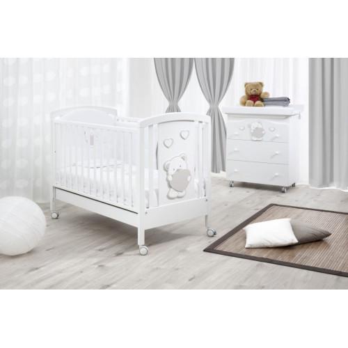 Raffaello bērnu gultiņa Abbraccio