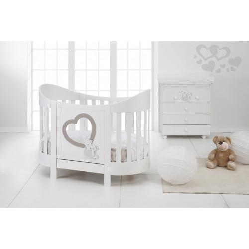 Raffaello bērnu gultiņa Adamo