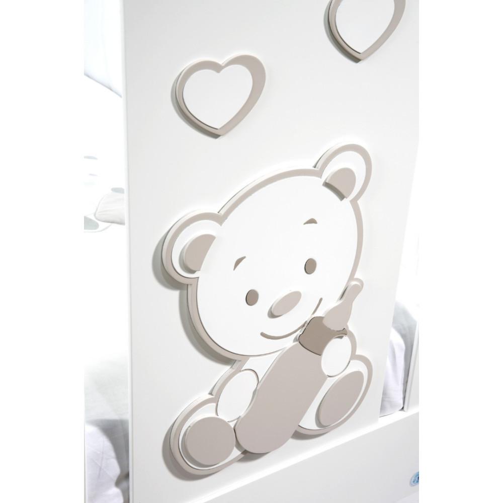Raffaello bērnu gultiņa Biberon