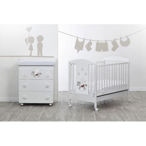 Raffaello bērnu gultiņa Cavalluccio