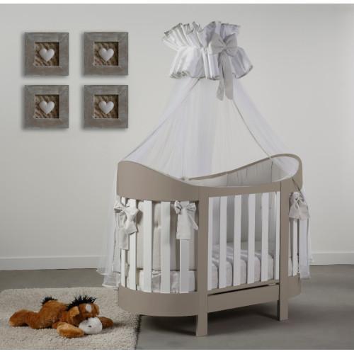 Raffaello bērnu gultiņa Eva bicolor (beige)