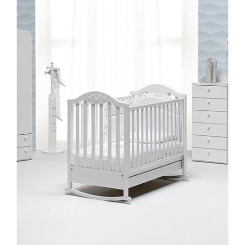 Raffaello bērnu gultiņa ar šūpuli Didi
