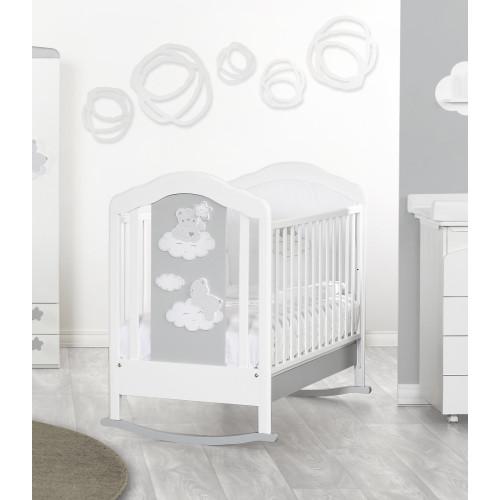 Raffaello bērnu gultiņa šūpulis Coccolo bicolor
