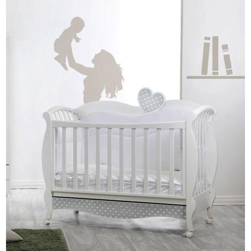 Raffaello bērnu gultiņa Grace Luis