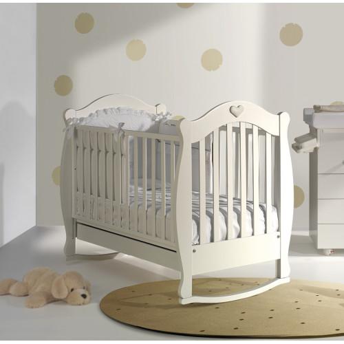 Raffaello bērnu gultiņa ar šūpuli Susy