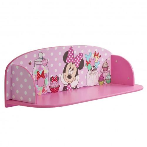 Minnie Mouse sienas grāmatu plaukts