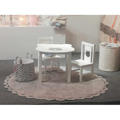 Aratextil Galdiņš + 2 krēsli OSITO