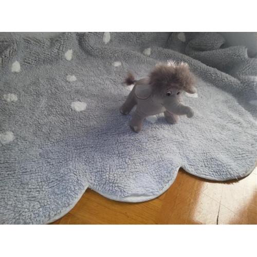 Aratextil Cookie gris mazgājamais paklājs no 100% kokvilnas