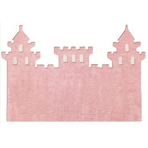 Aratextil Castillo rosa mazgājamais paklājs no 100% kokvilnas