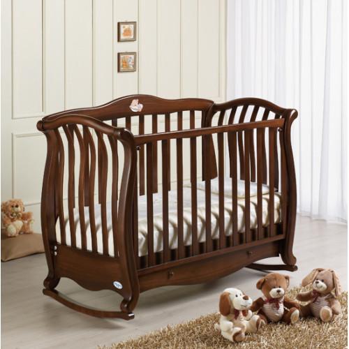 Raffaello bērnu gultiņa šūpulis Andrea VIP