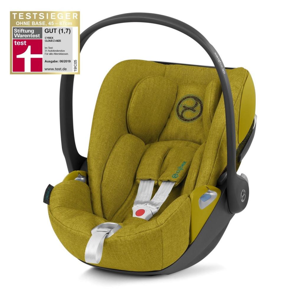 Cybex CLOUD Z i-size Mustard Yellow Plus autosēdeklītis zīdaiņiem