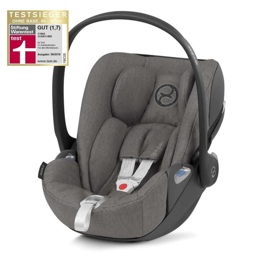 Cybex CLOUD Z i-size Soho Grey autosēdeklītis zīdaiņiem