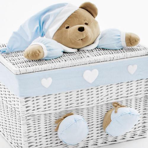 NaNan PUCCIO rotaļlietu kaste lielā Light Blue