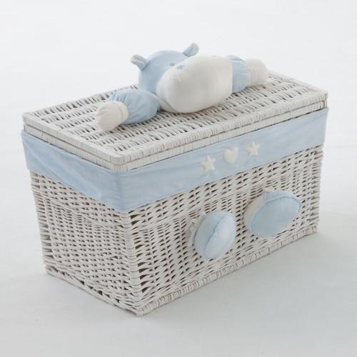 NaNan BOMBO rotaļlietu kaste vidējā Light blue