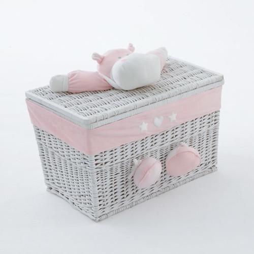 NaNan BOMBO rotaļlietu kaste mazā Pink