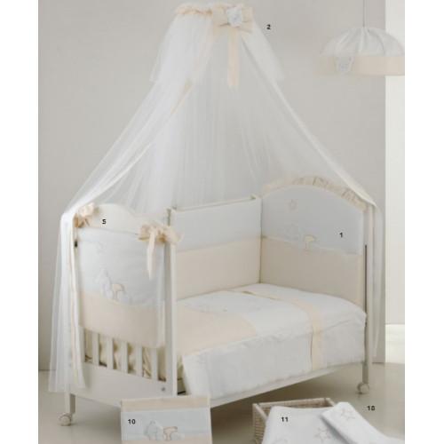 Raffaello bērnu gultas veļa Coccolo beige