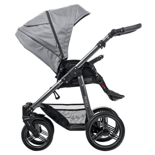Venicci Carbo Natural Grey 2 in1 bērnu rati